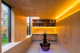Gimnasios de estilo moderno por Neil Dusheiko Architects