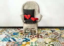 Walls & flooring by MOSAIC DEL SUR