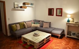 Fotos RÜM: Livings de estilo minimalista por RÜM Proyectos y Diseño