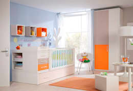 modern Nursery/kid's room by Rizalnor