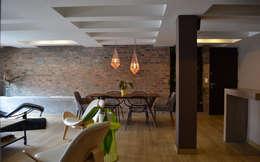 APARTAMENTO 97: Comedores de estilo ecléctico por santiago dussan architecture & Interior design