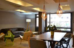 Comedores de estilo ecléctico por santiago dussan architecture & Interior design