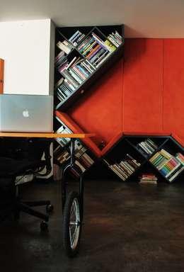 Bureau de style de style eclectique par santiago dussan architecture & Interior design