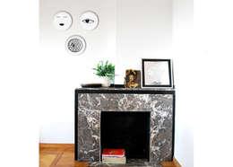 Projekty,  Salon zaprojektowane przez KIASMO
