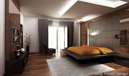 HİSARİ DESIGN STUDIO –  MISCELLANEOUS HOME PROJECT: modern tarz Yatak Odası