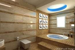 Baños de estilo moderno por HİSARİ DESIGN STUDIO