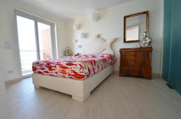 appartement roquebrune cap martin : Chambre de style de style Moderne par kmmarchitecture