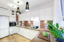 mieszkanie na Felinie Lublin: styl , w kategorii Kuchnia zaprojektowany przez Auraprojekt