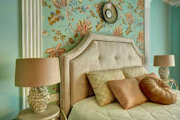 eclectic Bedroom by Yucubedesign