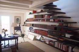 Oficinas de estilo moderno por studi di progettazione riuniti