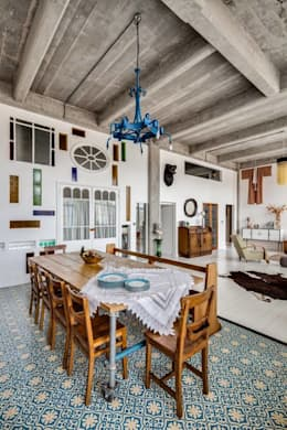 modern Dining room by MOSAIC DEL SUR