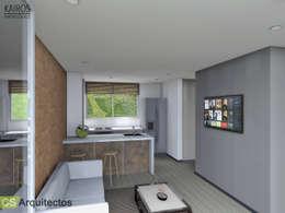 minimalistic Kitchen by CS Arquitectos