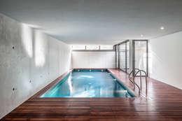 modern Pool by Alex Gasca, architects.