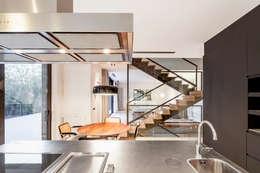 moderne Eetkamer door Alex Gasca, architects.