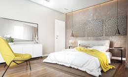 Dormitorios de estilo moderno por Derya Bilgen