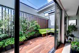 Jardines de estilo moderno por TERAJIMA ARCHITECTS