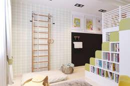 modern Nursery/kid's room by Катя Волкова