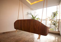 Anmi Residence:  Terrace by andblack design studio