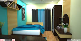 House in Mumbai: modern Bedroom by Ray Design World