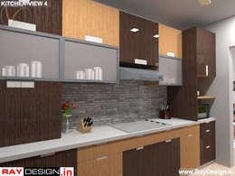 House in Mumbai: modern Kitchen by Ray Design World