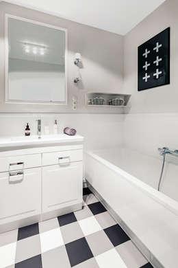 eclectic Bathroom by Ayuko Studio
