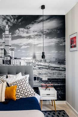 Chambre de style de style Moderne par Ayuko Studio