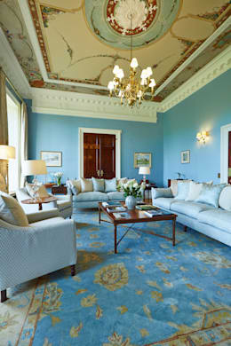 classic Living room by Etons of Bath