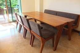 Comedores de estilo minimalista por Tigra