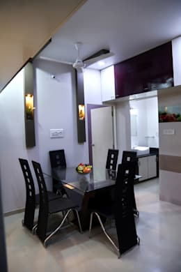 Dining: modern Dining room by ZEAL Arch Designs