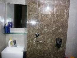 Master bedroom Bathroom: classic Bathroom by ZEAL Arch Designs
