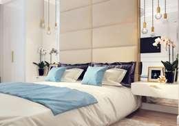 Дизайн-проект гостевой комнаты.: Спальни в . Автор – Катя Волкова