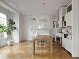 Projekty,  Salon zaprojektowane przez Batiik Studio