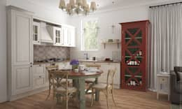 country Kitchen by «Студия 3.14»