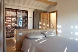 rustic Bedroom by MIDE architetti