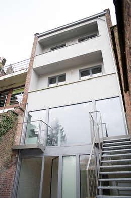 Vanherberghen: Maisons de style de style Moderne par Modelmo ScPRL