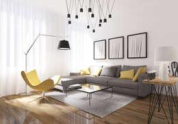 غرفة المعيشة تنفيذ ZR-architects
