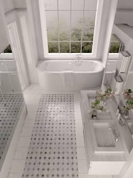 Ванная комната в . Автор – Architecture du bain