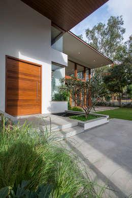 Projekty, nowoczesne Domy zaprojektowane przez studio XS