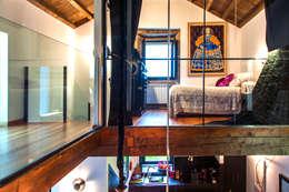غرفة نوم تنفيذ Belén Sueiro
