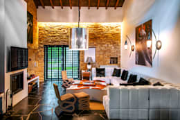 modern Living room by Belén Sueiro