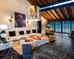 غرفة المعيشة تنفيذ Belén Sueiro