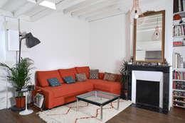 28m2: Salon de style de style Moderne par Croisle Architecture
