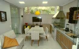 Visão Geral: Cozinhas modernas por Américo Parlato - Arquitetura