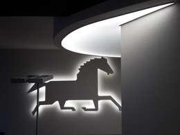 Couloir, entrée, escaliers de style de style Moderne par artesa srl