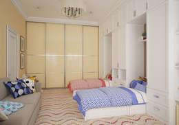 Детская. Два этажа уюта: Детские комнаты в . Автор – «Студия 3.14»