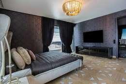 Monte Carlo Penthouse: Chambre de style de style Moderne par Vesta Vision