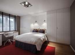 moderne Slaapkamer door Pierre Noirhomme