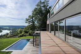 Projekty,  Taras zaprojektowane przez BURO5 - architectes & associés