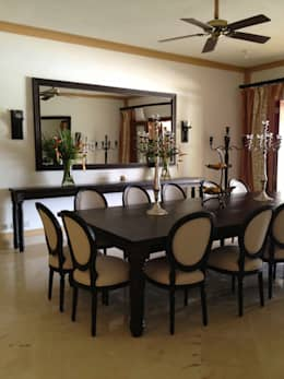 colonial Dining room by Lid&er  Ltd