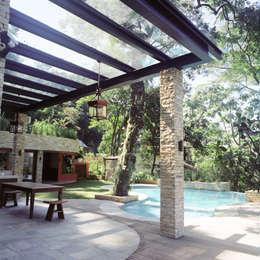 tropical Pool by Maria Claudia Faro
